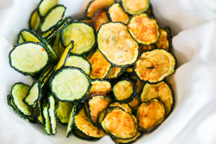 Zucchini chips apple chips kelly leveque the inspired home dehydrated fruit vegetable chips forumfinder Gallery