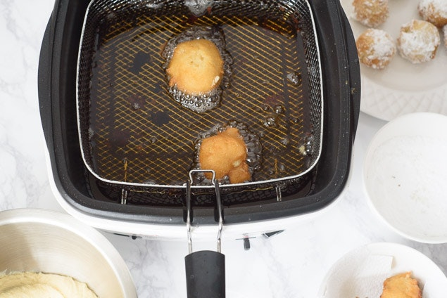 09 Doughnuts Cooking Overhead