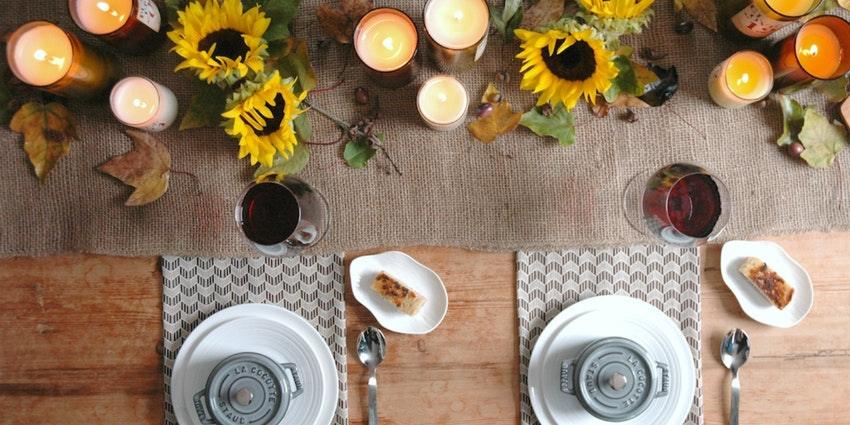 Falling for Fall Party with Mini Sage Grilled Cheese & Pumpkin Soup