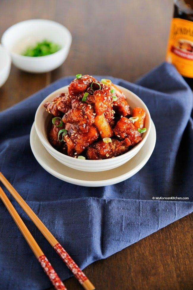 2  Korean Style Popcorn Chicken
