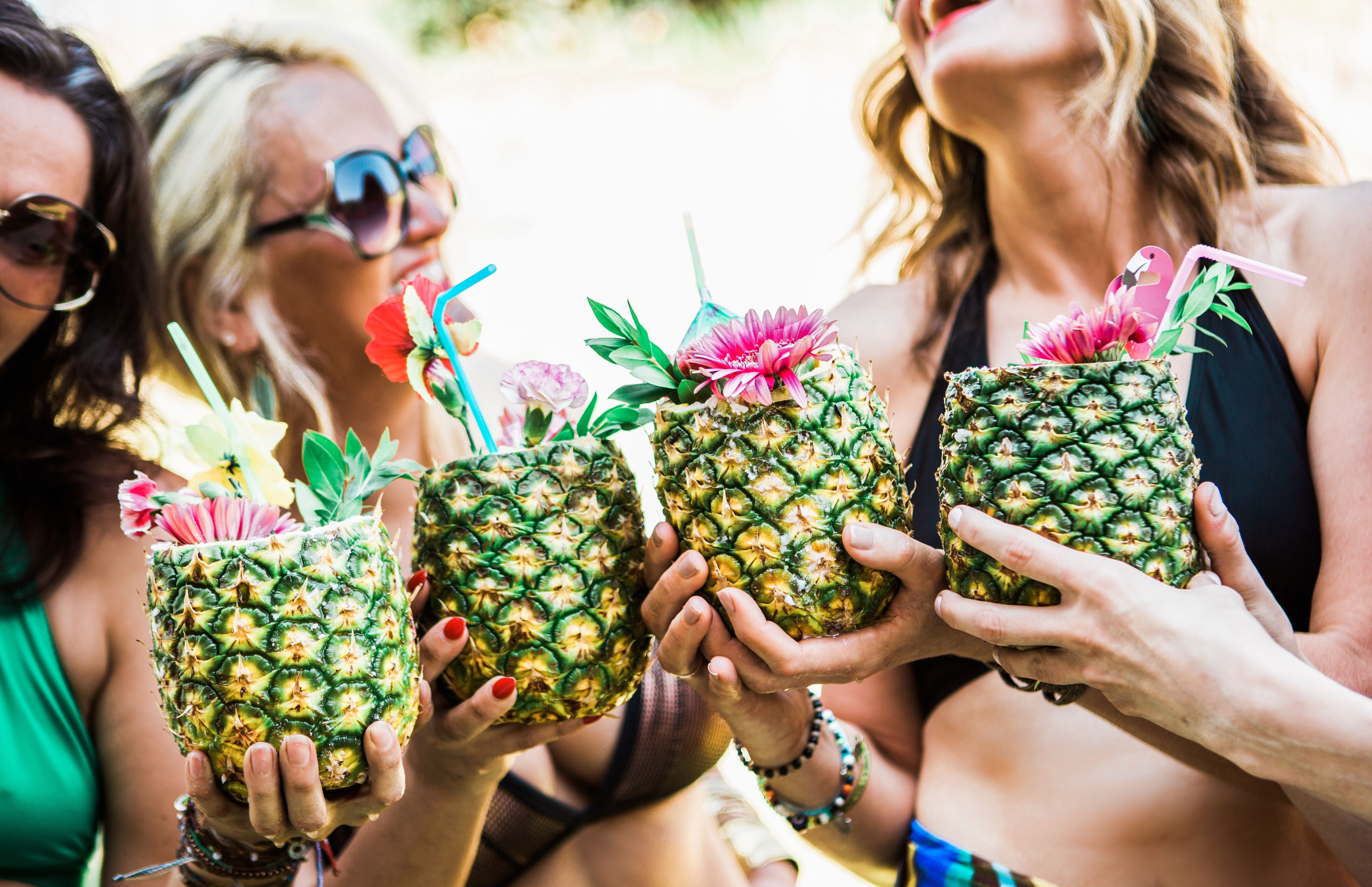 Pool Party Pineapple Cocktails