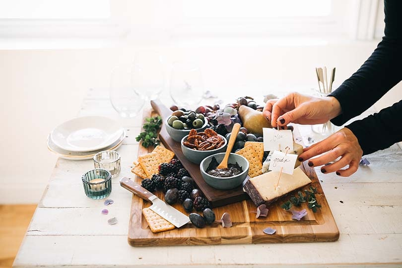Make Your Last Minute Parties Even Better With a Gorgeous Cheeseboard for Less Than $20