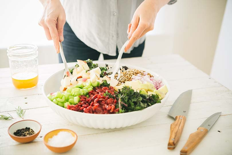 Make This Tasty Wild Rice, Kale and Apple Crunch Salad for Dinner This Week