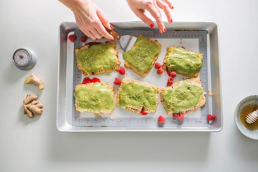 These Matcha Raspberry Ginger Pop Tarts Are the Homemade Upgrade You Need