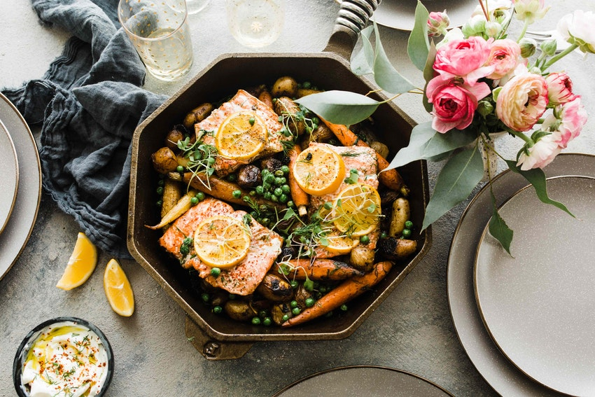 What to Cook for Dinner Tonight: Skillet Salmon
