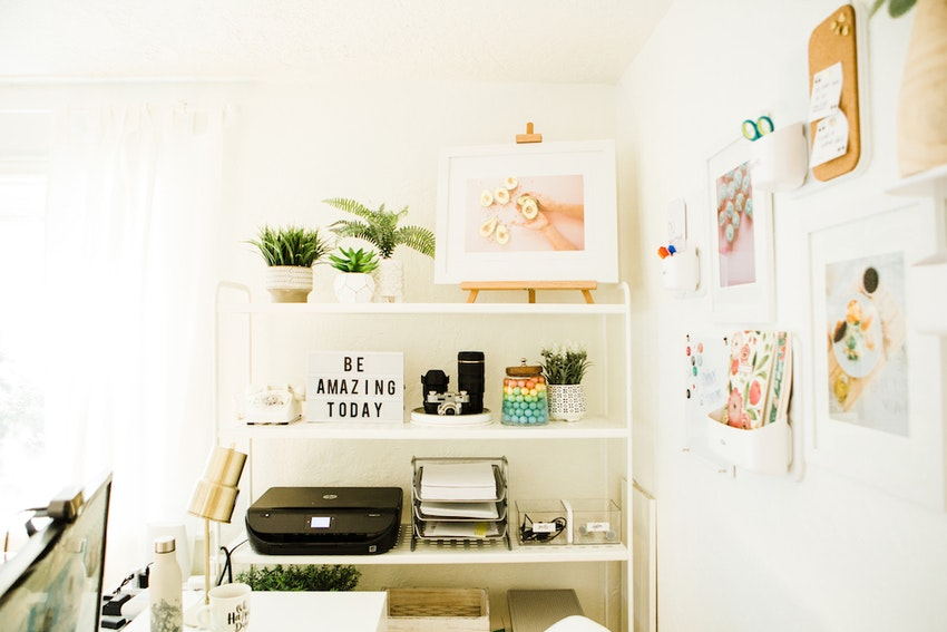 How to Organize Your Creative Office & Finally Tame the Clutter