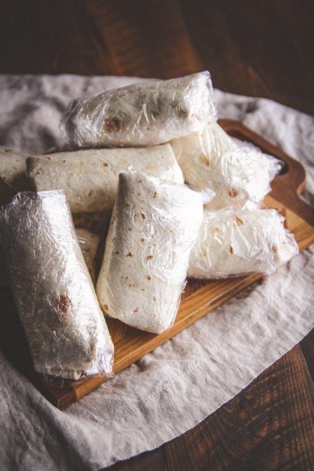 5 Ingredient Black Bean Freezer Burritos 14 610X915