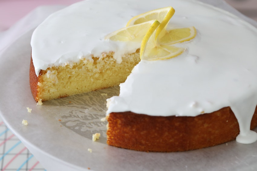 Summertime Lemon Ricotta Pound Cake