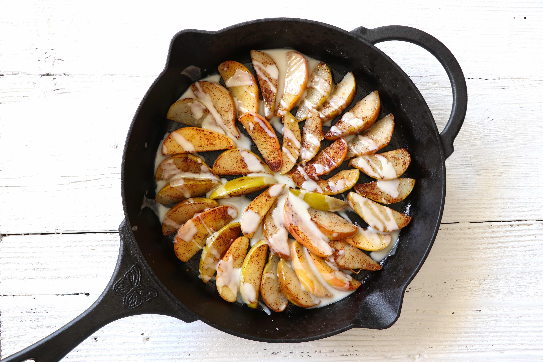 Healthy Dessert Alert: Vegan Sautéed Apples & Pears