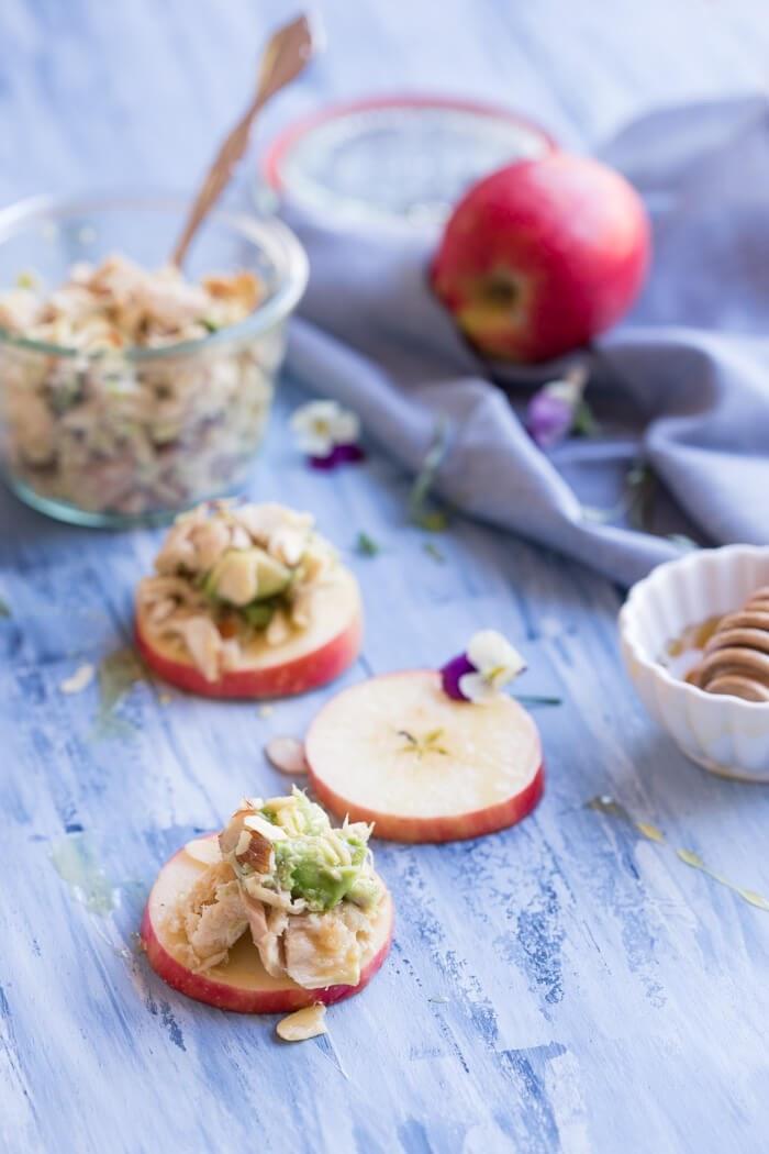 Avocado Tuna Salad On Apple Slices Web Ready 1