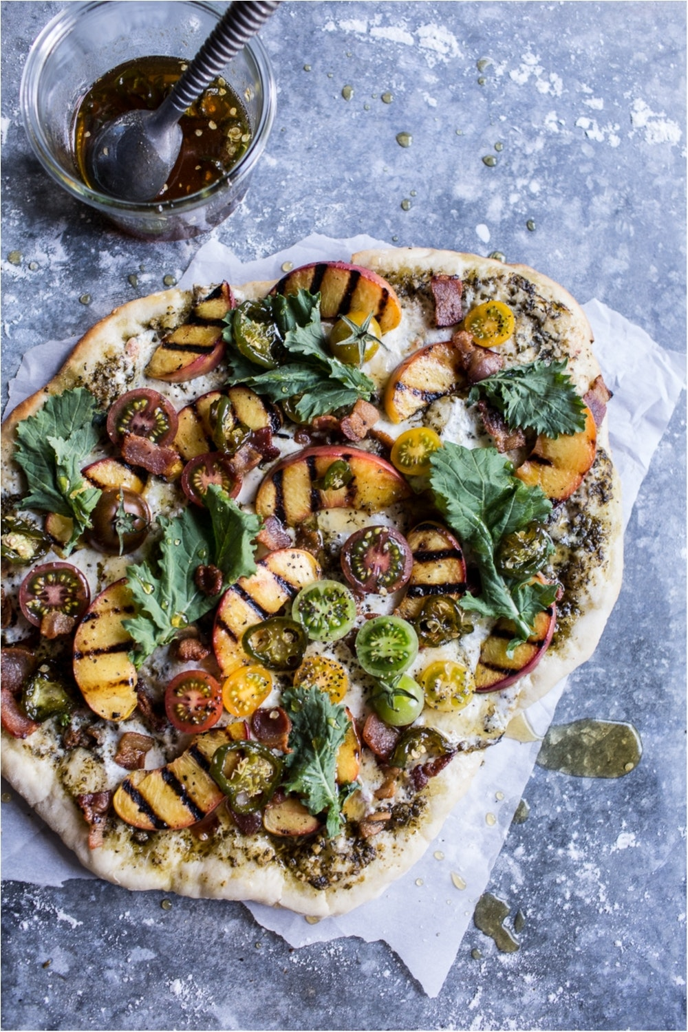 BLT-and-Grilled-Peach-Pizza-with-Jalapeno-Honey-Gorgonzola-8