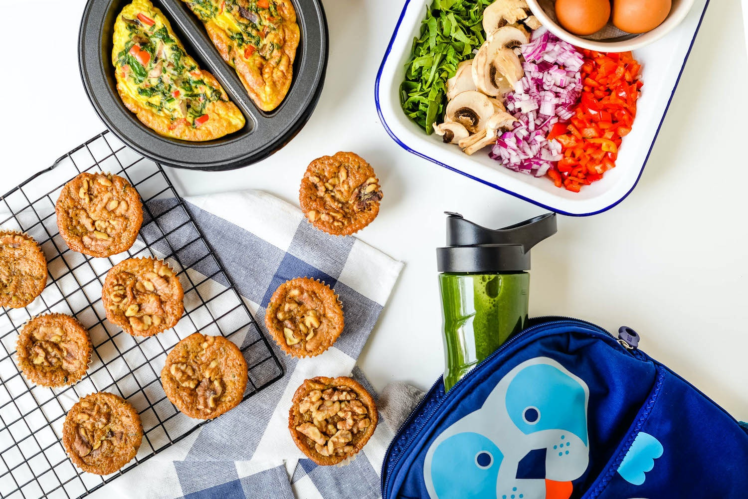 Get a Healthy Start with these Veggie-Packed Grab-And-Go Breakfast Ideas