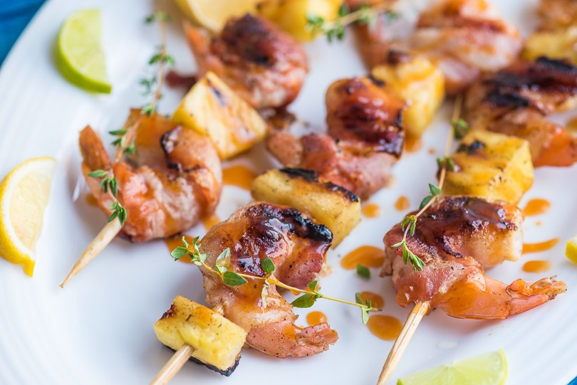 Bacon Wrapped Shrimp 01