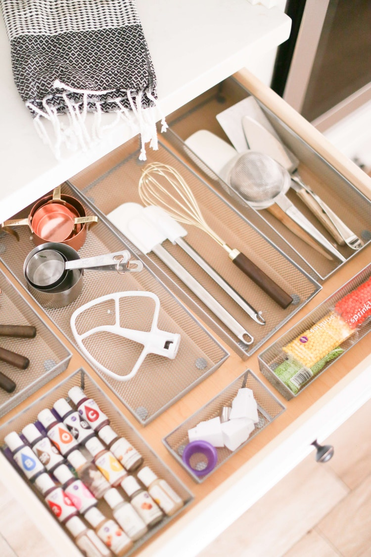 Get Your Kitchen in Order With These Baking Station Organization Tips