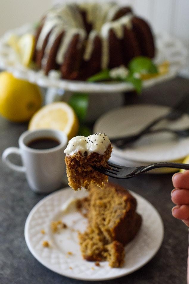 Banana Poppyseed Cake 27
