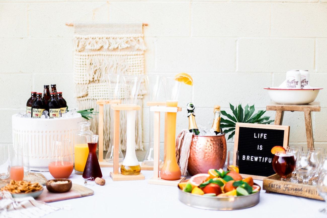 A DIY Summer Shandy Bar to Beat the Heat