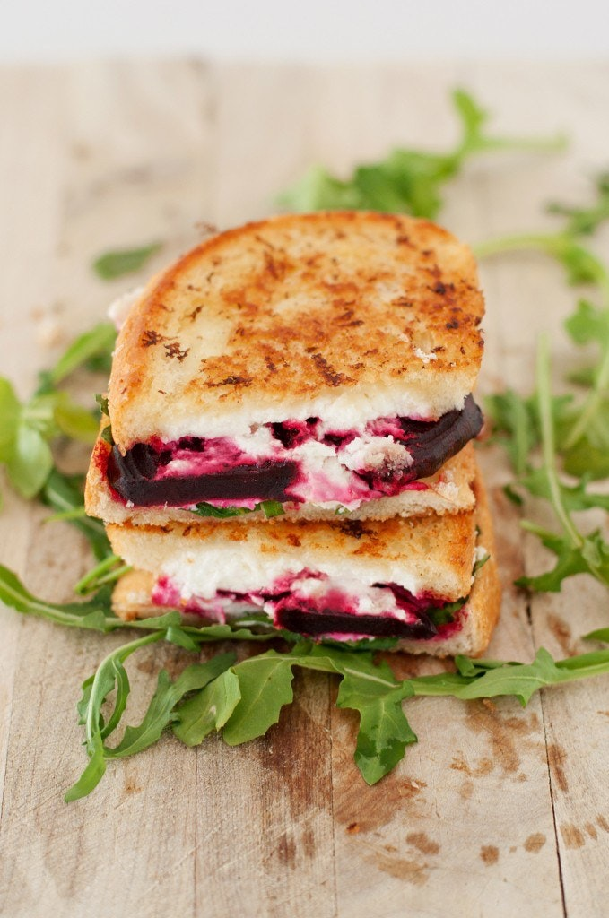Beet Goat Cheese Arugula Grilled Cheese 1 679X1024
