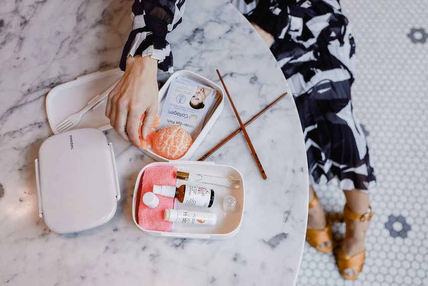 The Beauty Bento Box You Need to Put Together for Your Next Flight