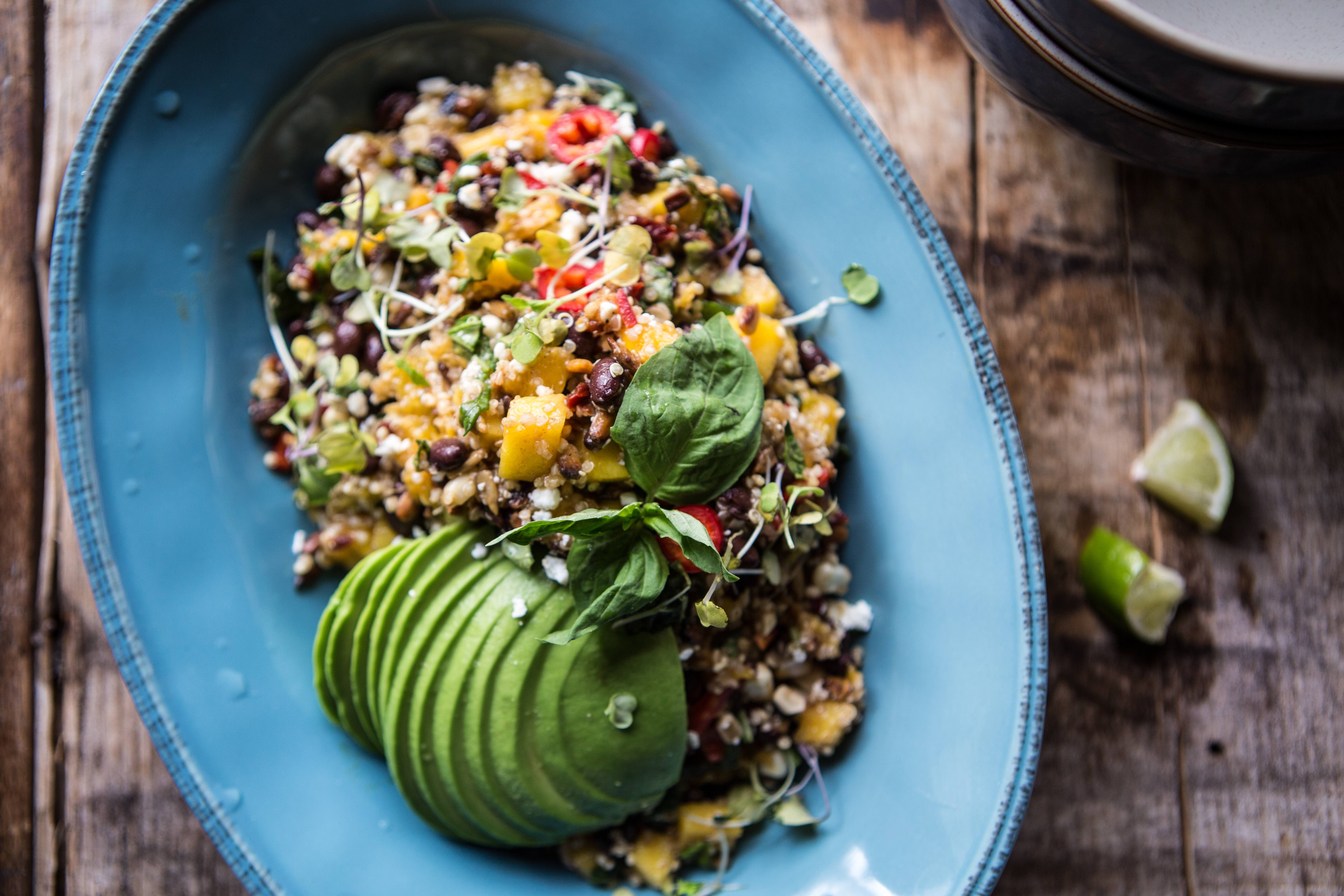 This Black Bean & Mango Salad Is Perfect for Outdoor Entertaining
