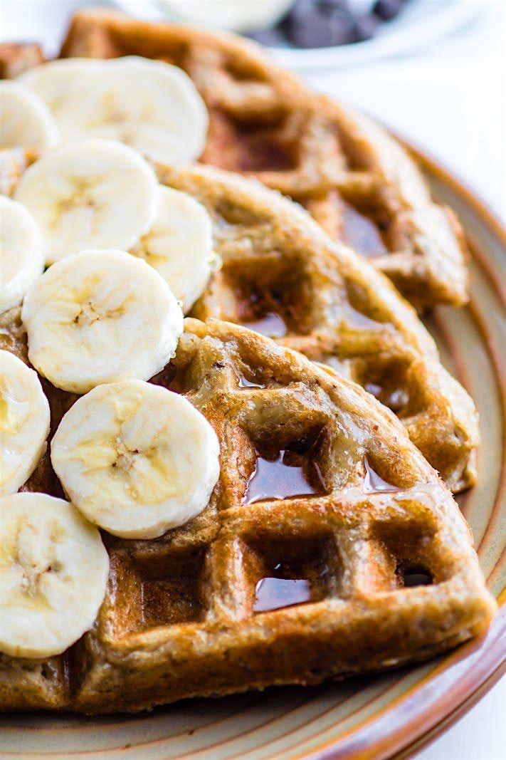 Blender Rice And Banana Gluten Free Waffles Dairy Free 4 Of 1 4 1