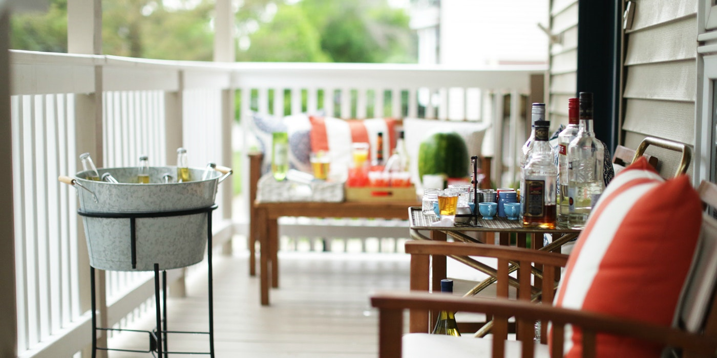 Throw a Laid-Back Boozy Porch Party
