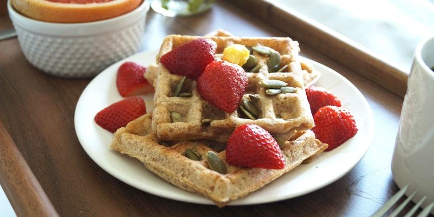 Heart Healthy Gourmet Waffles
