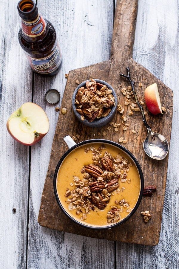 Brie Cheddar Apple Beer Soup With Cinnamon Pecan Oat Crumble 82