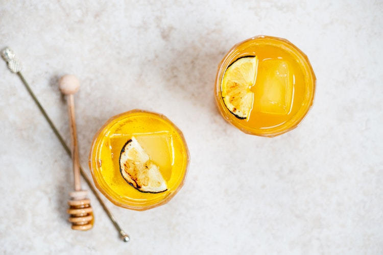 Burnt Honey Turmeric Cocktails