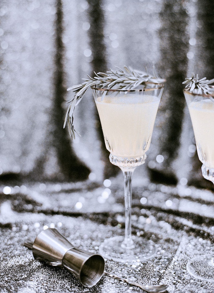3 Elegant Metallic Cocktails