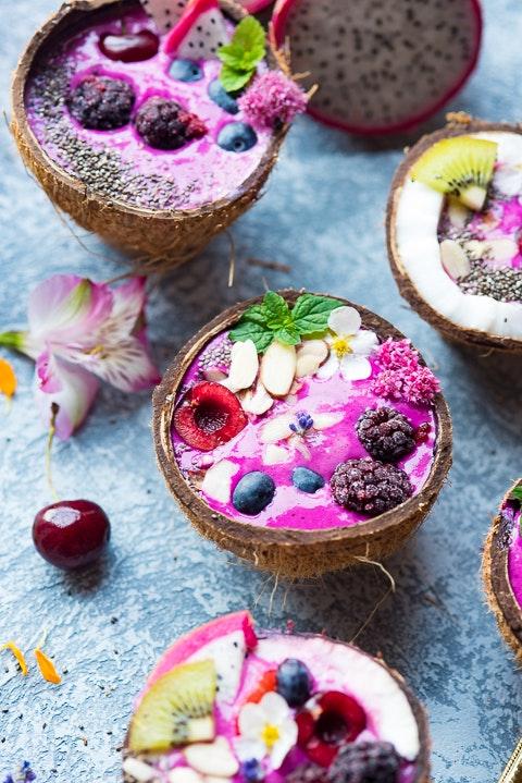 Cherry Pitaya Smoothie 02 Copy