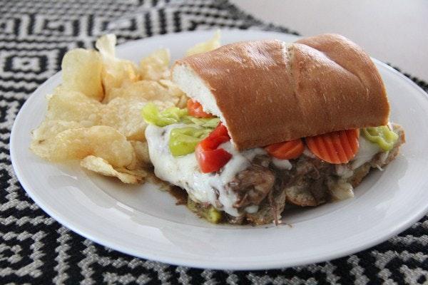 Chicago Style Italian Beef 4