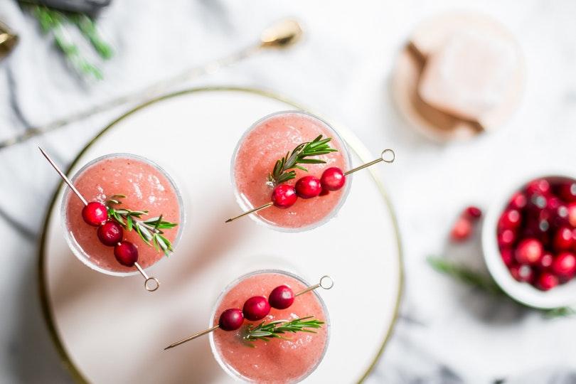 A Genius Thanksgiving Cocktail: Cranberry Sauce & Chile Margaritas