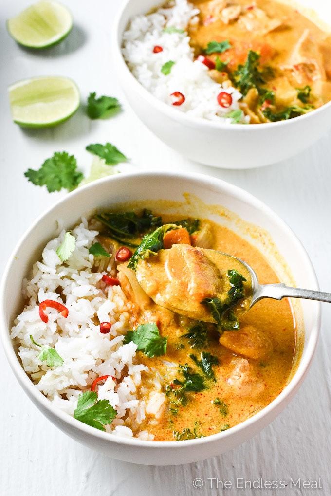 Crock Pot Thai Chicken Curry 680 2