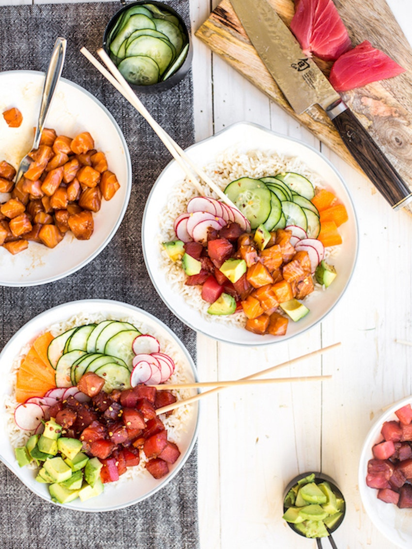 DIY Poké Bowl Recipe