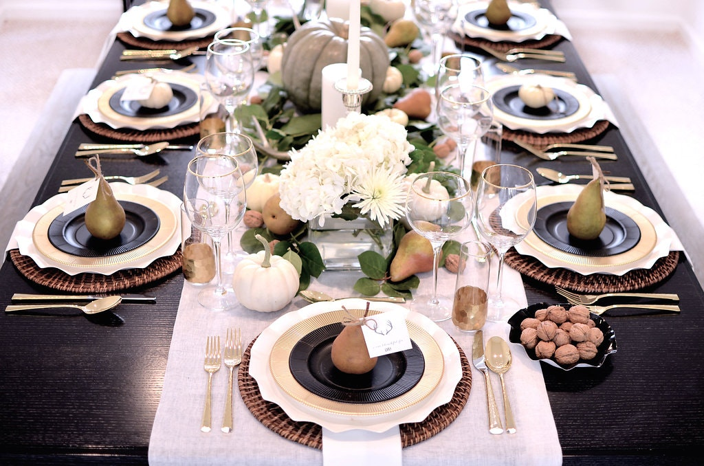 Set a Fall Harvest Table for Your Friendsgiving or Thanksgiving