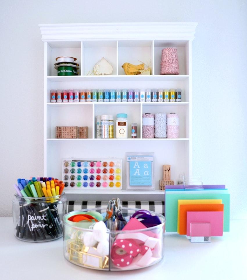 Craft Studio Organization Goals