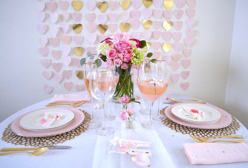 Set the Scene for a Romantic Valentine's Day for Two