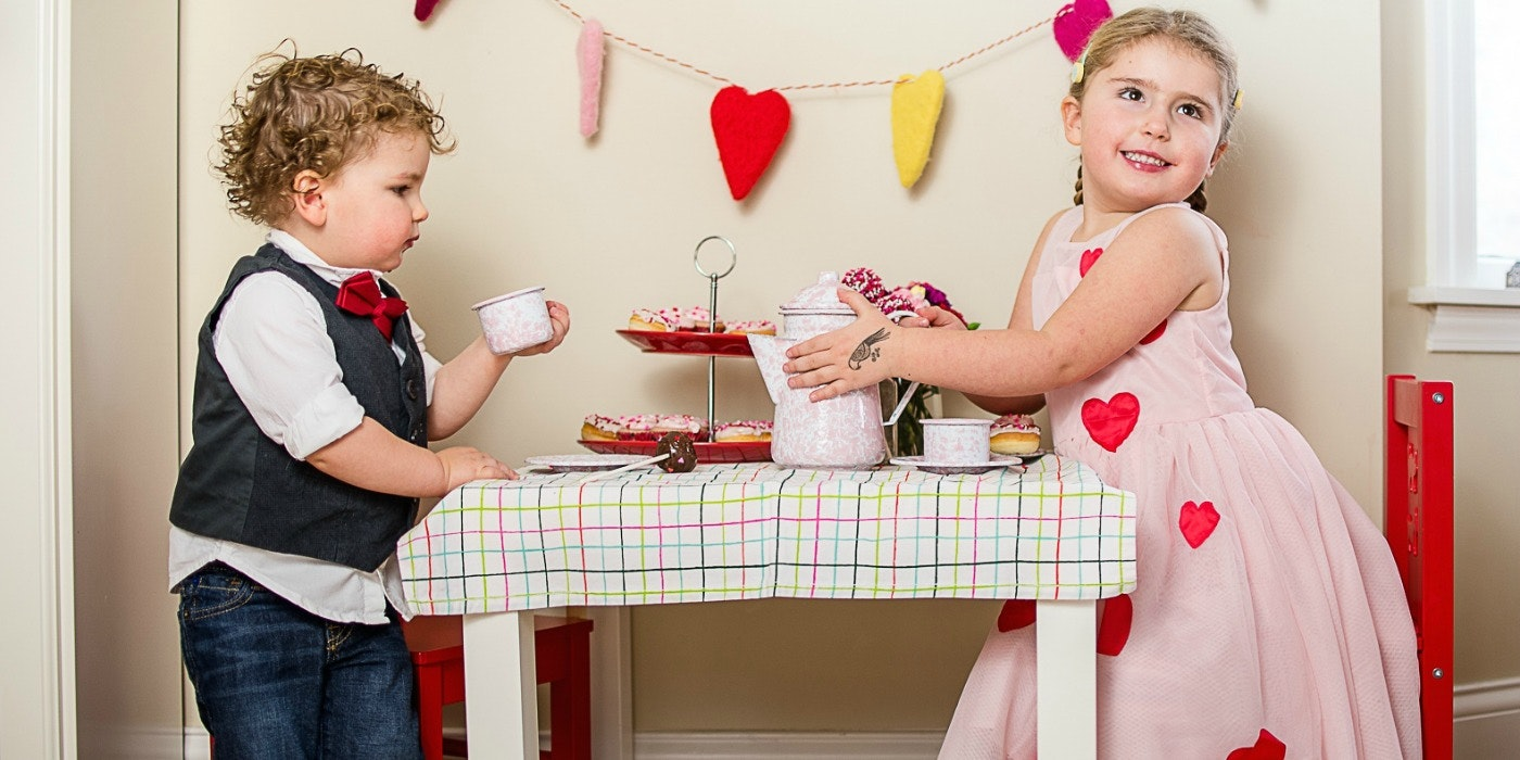 Sweet Little Things: A Valentine's Day Tea Party