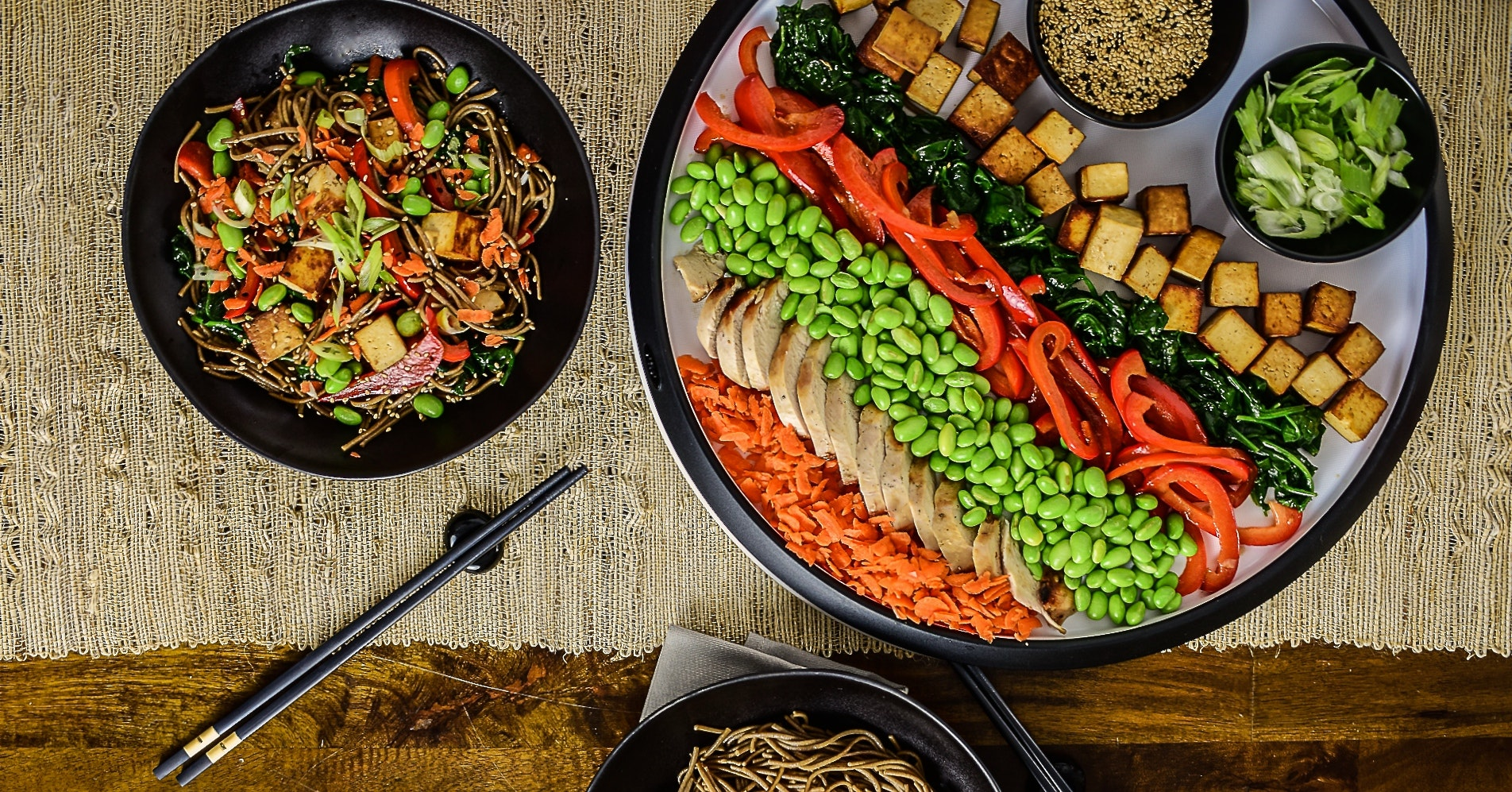Build-Your-Own Teriyaki Noodle Bowls: Deconstructing Dinner to Please Picky Palates