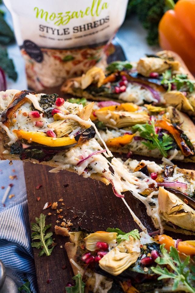 Daiya Fall Harvest Pizza 04