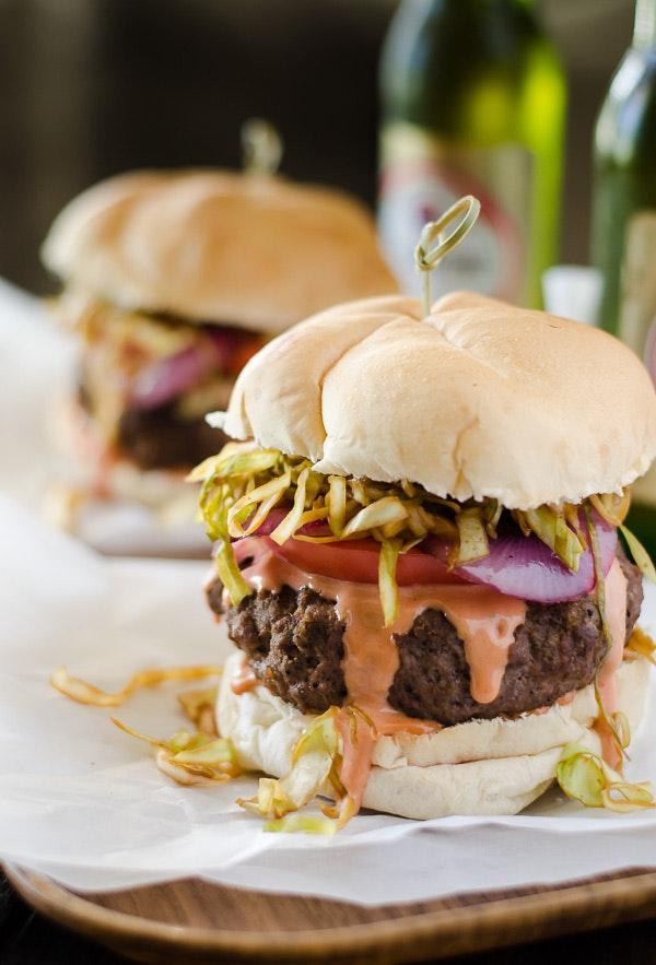 Dominican Chimichurri Burgers 3