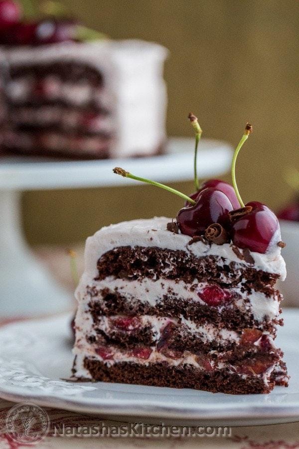 Drunken Cherry Chocolate Cake 7 2