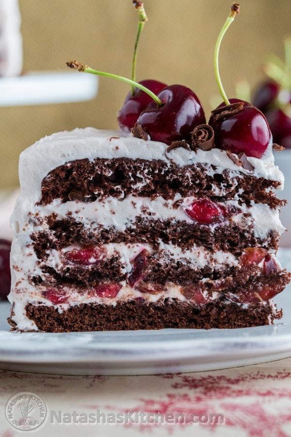 Drunken Cherry Chocolate Cake 7 3