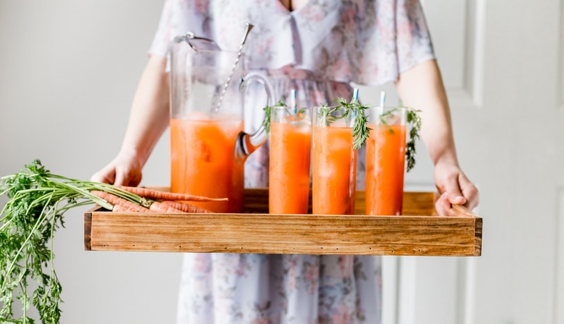 This Spiced Carrot Punch Is Just Extra Enough for Easter Brunch