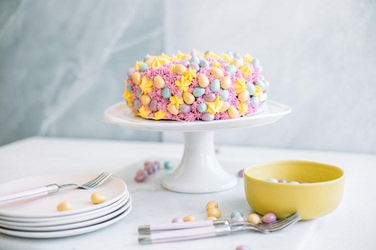 A Chocolate Mini Cadbury Egg Cake