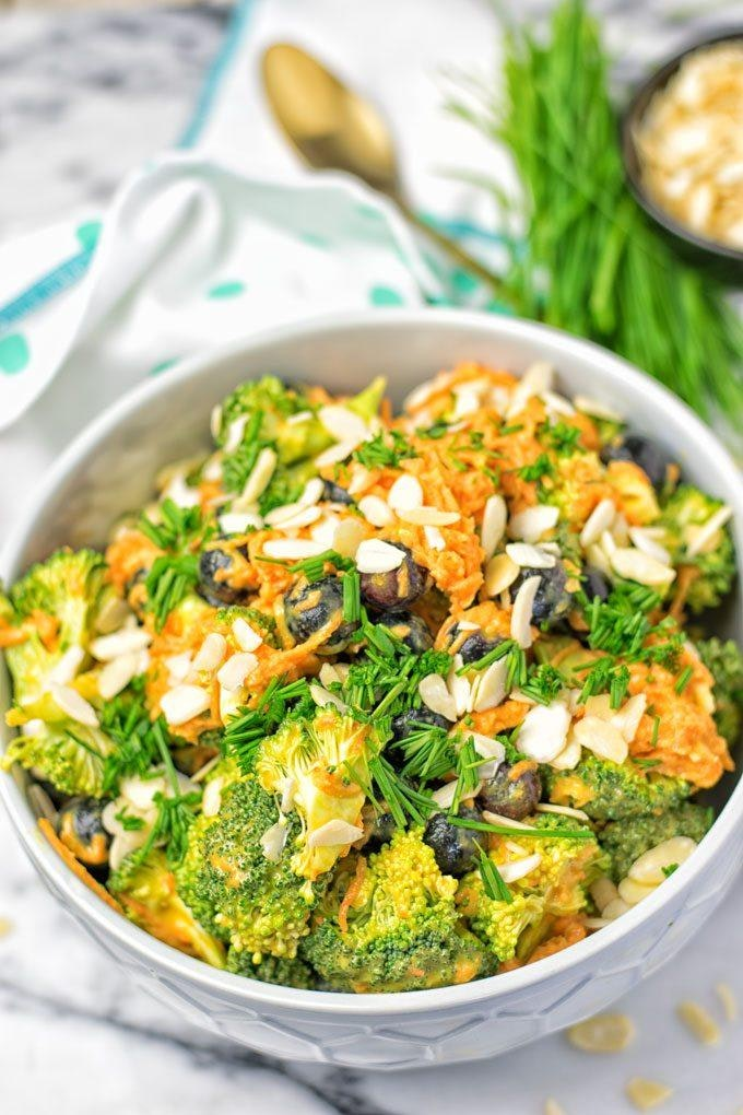 Easy Paleo Detox Broccoli Salad 1