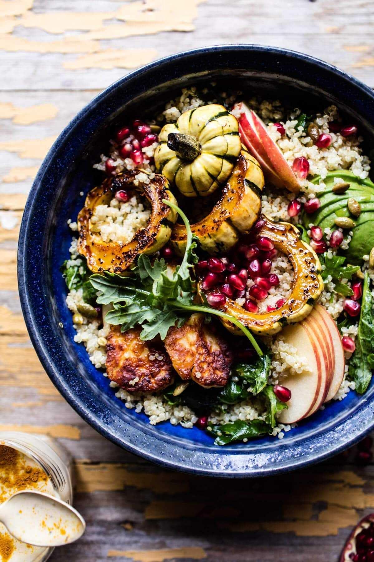 Fall Harvest Quinoa Salad 7