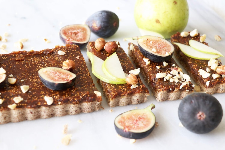 This Fig & Pear Tart Recipe Is the Fall Dessert You've Been Waiting For