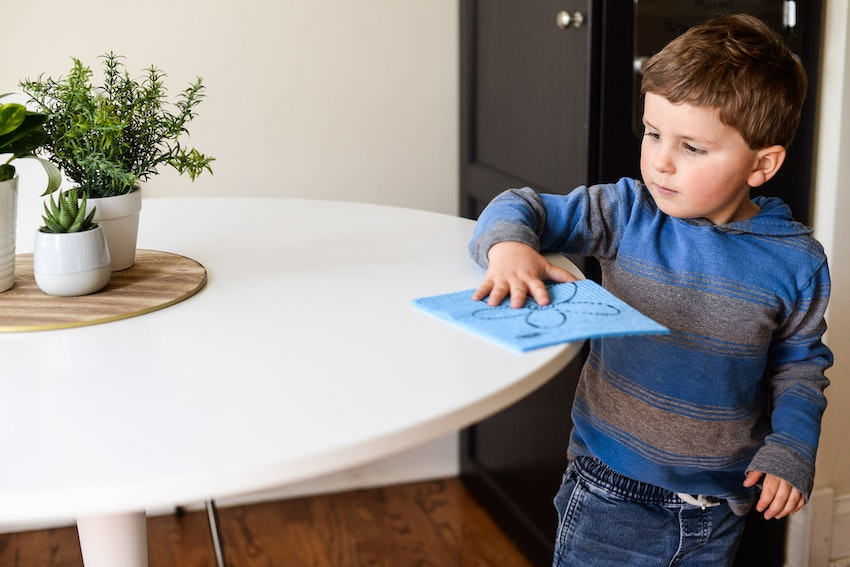 5 First Time Chores for Little Kids