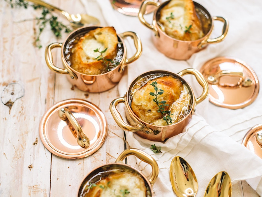 Cozy Up with Classic French Onion Soup